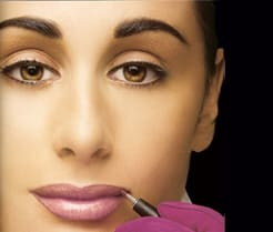 Micropigmentación de las cejas, labios y ojos