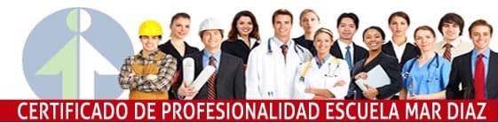 Certificados de profesionalidad en la Escuela Mar Díaz