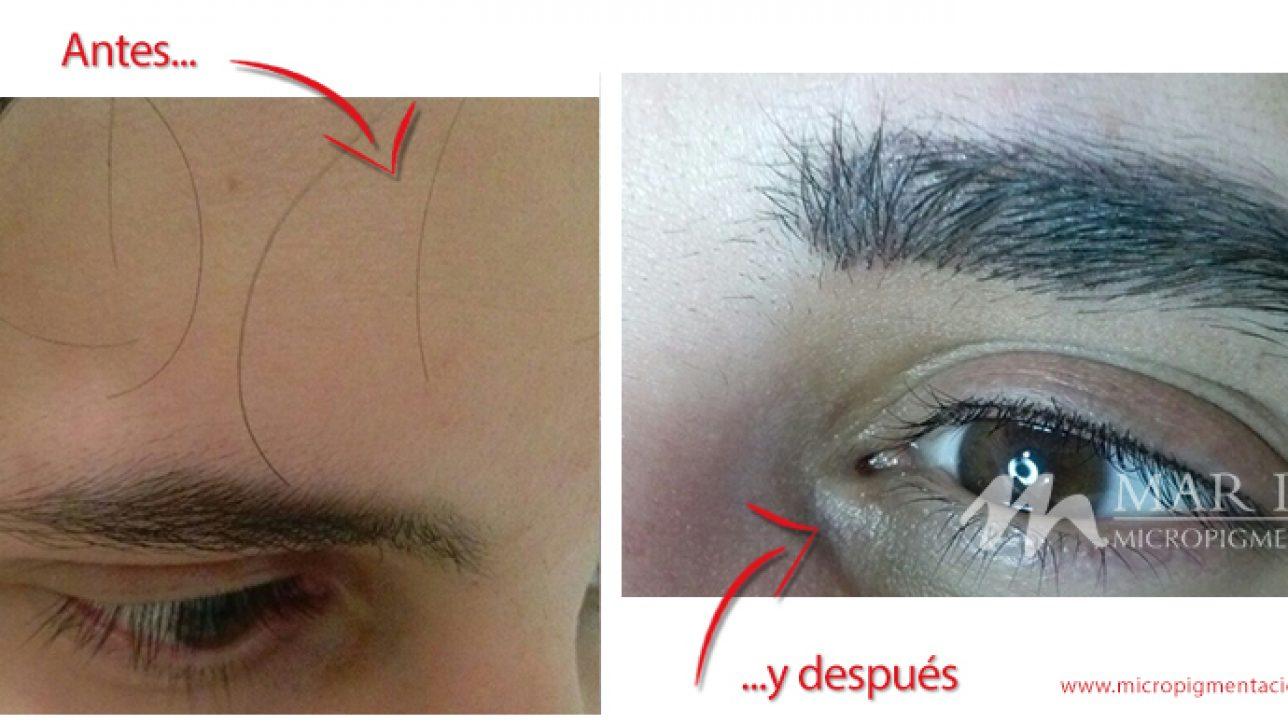 Cejas De Hombre microblading de cejas para hombres | micropigmentación mar díaz